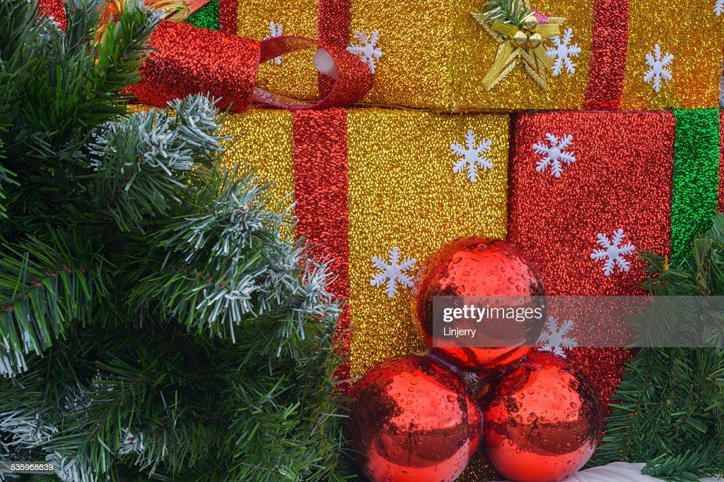 Christmas gift : Stock Photo