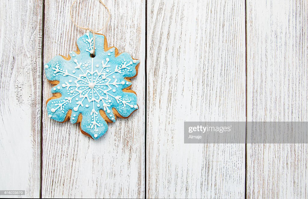 Christmas gingerbread cookie : Stock Photo