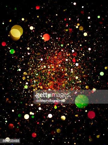 Christmas Glitter Explosion