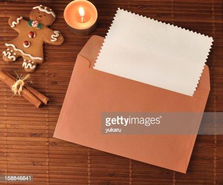 Christmas greeting card : Stock Photo