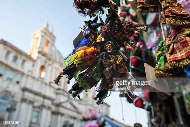 Christmas handicrafts at Piazza Navona, in Rome
