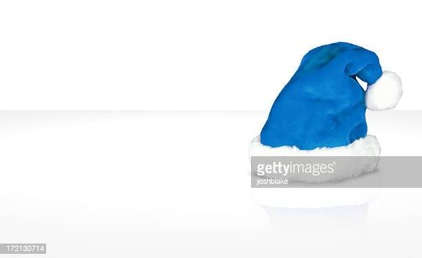 Christmas hat (blue)