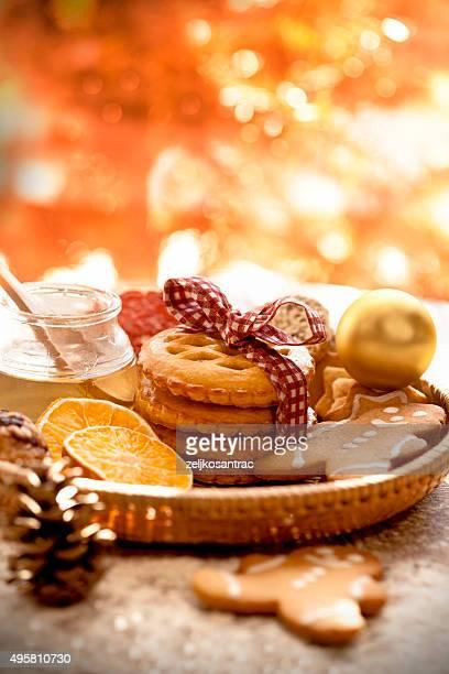 Weihnachten hausgemachte Kekse