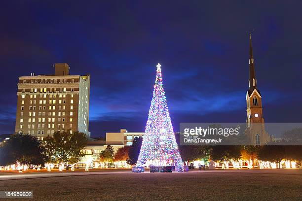 Christmas in Charleston, South Carolina