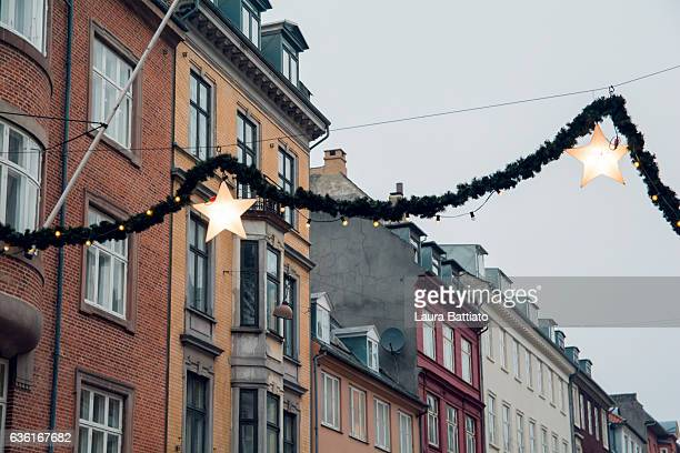 Christmas in Denmark - Detail of the street decorations