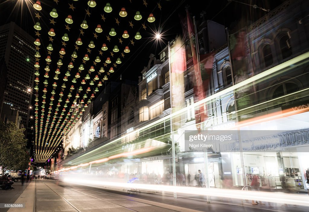 Christmas in Melbourne city