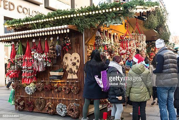 Weihnachten in München, Deutschland