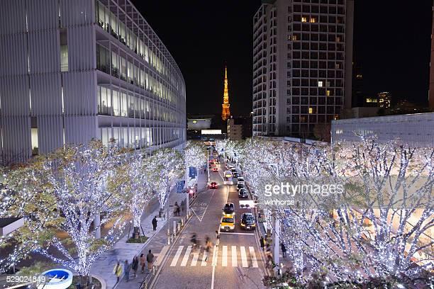 クリスマスを東京,日本