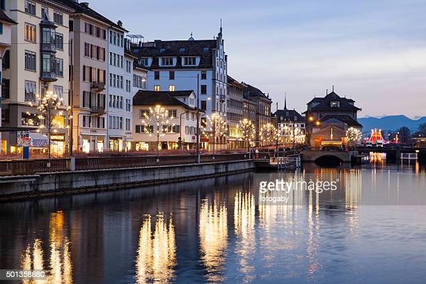 Weihnachten in Zürich, Schweiz