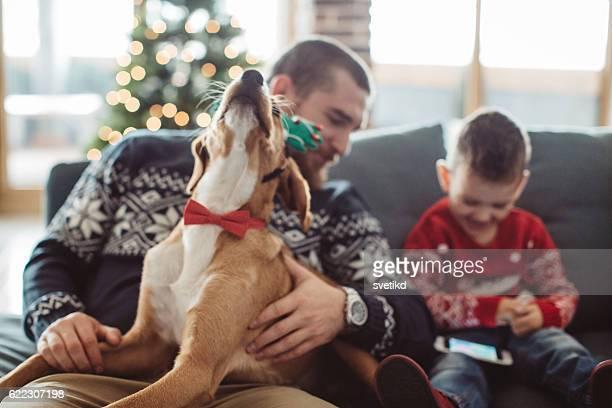 Weihnachten ist eine Zeit für die Familie
