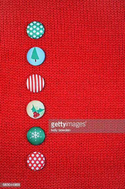 christmas jumper buttons