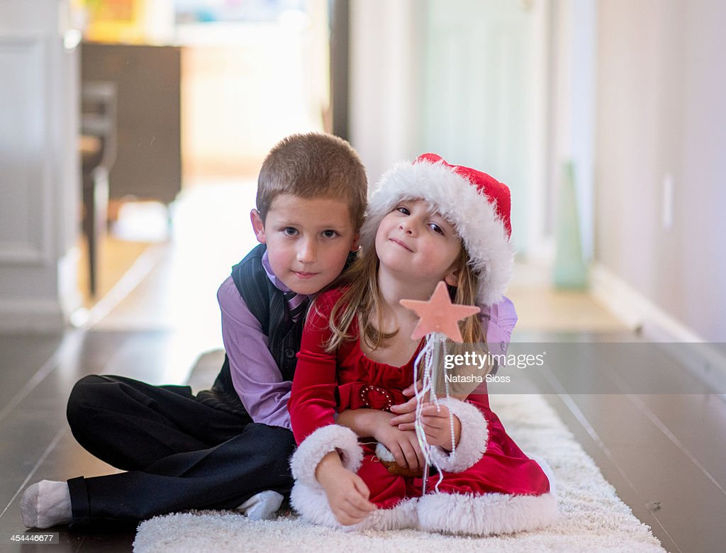 Christmas Kids : Stock Photo