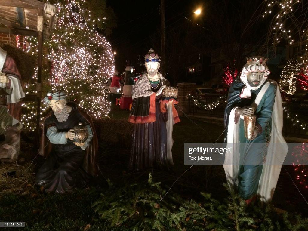 Christmas lights Dyker Heights, Brooklyn, NY