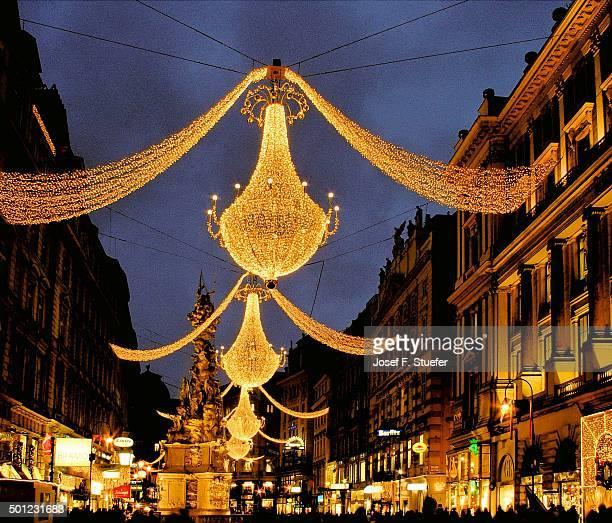 Christmas lights in Vienna