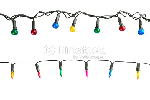 Christmas lights : Stock Photo