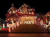Beautiful Christmas light display.