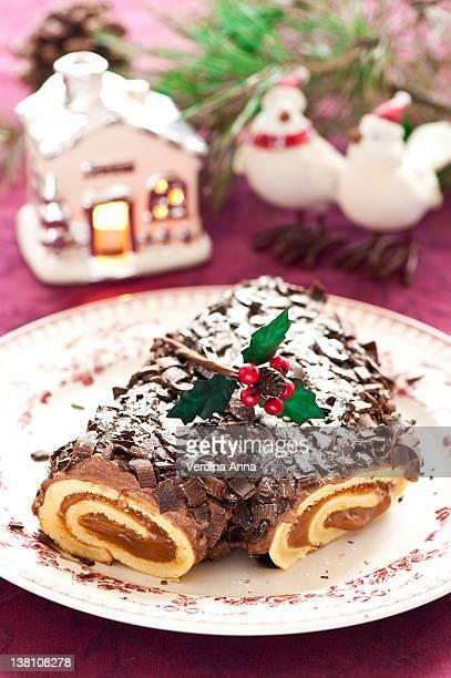 Christmas log