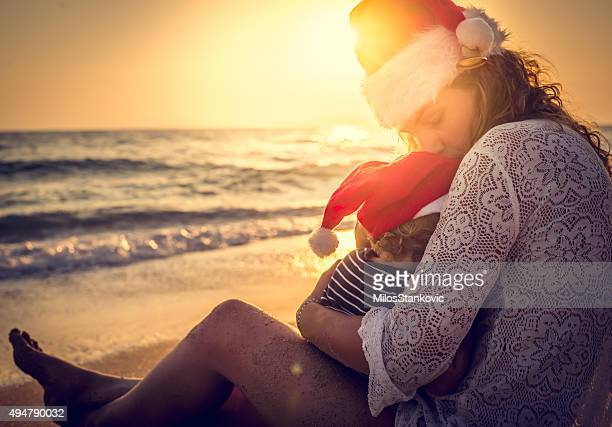 Christmas love at the beach