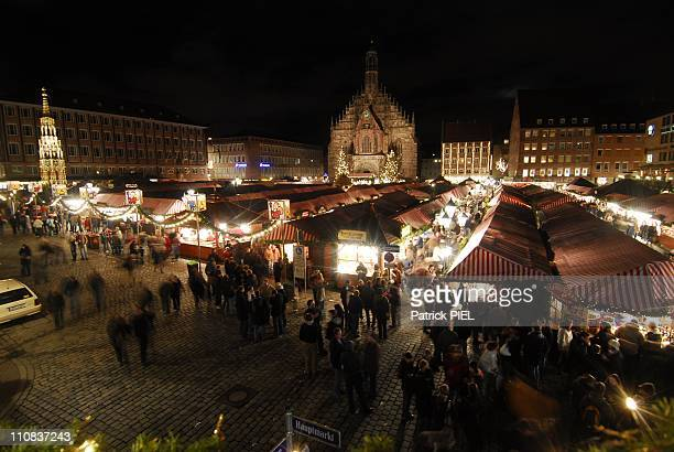 Christmas Market In Nuremberg Germany On December 06 2007 The christmas market in Nuremberg is one of the most known in the world More than 2...