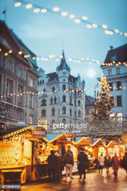 Christmas Market in Vienna.