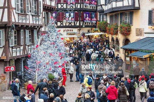 Christmas markets Colmar Alsace France
