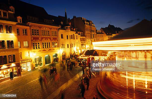 Christmas Markets in Alsace In Mulhouse France On November 28 1997 Mulhouse