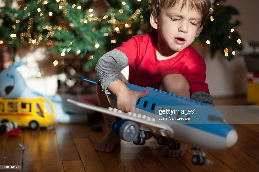 Christmas Morning : Stock Photo