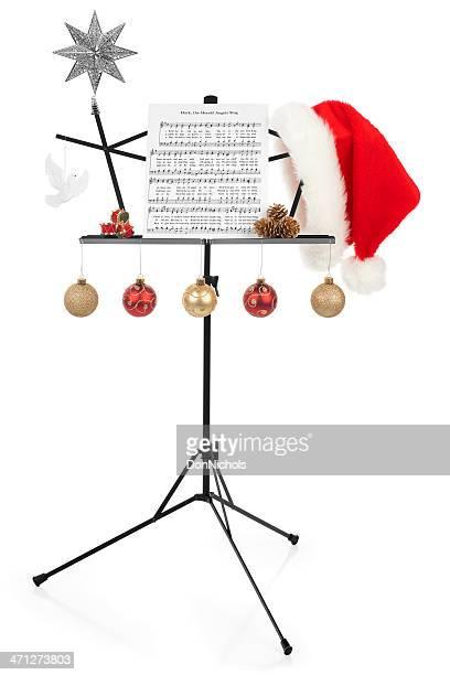 Weihnachten Notenständer