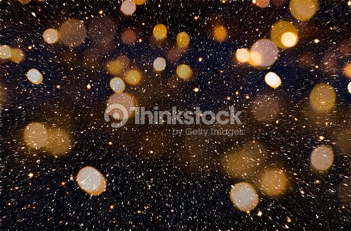 Christmas or New Year golden background : Foto de stock