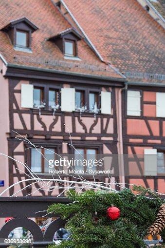Christmas ornament Colmar Alsace France