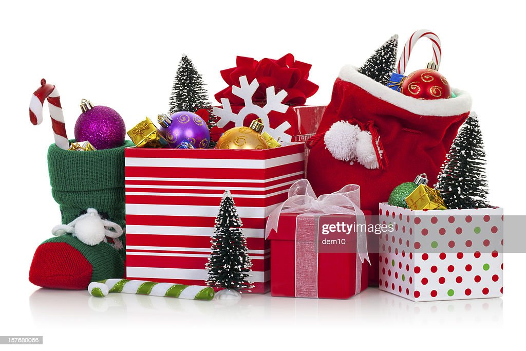 Christmas ornaments and decorations : Stock Photo