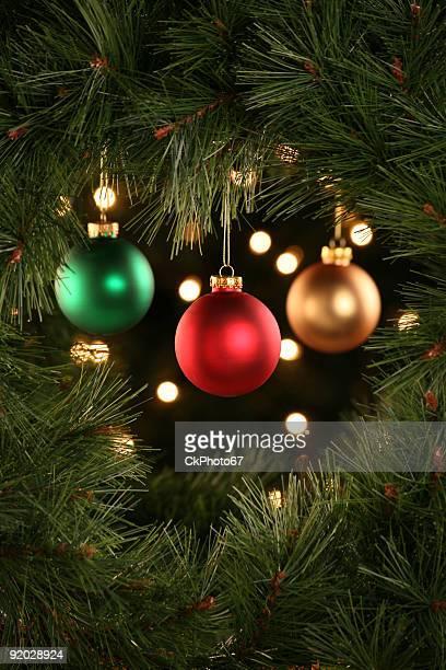 Weihnachtsdekoration-Szene