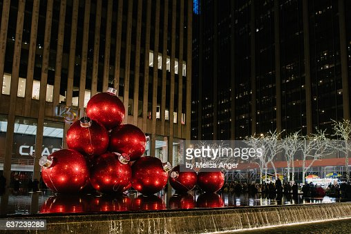 Christmas Ornaments in New York