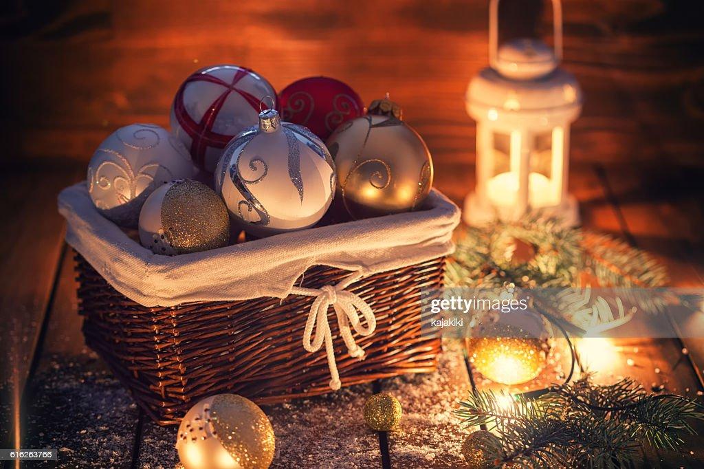 Christmas Ornaments : Stock Photo