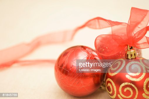 Christmas ornaments : Foto de stock