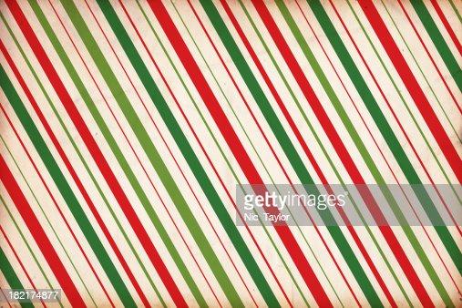 クリスマスの包装紙の背景