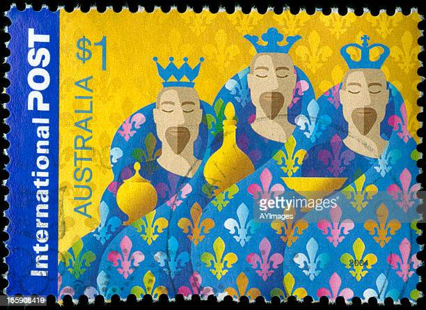 Navidad sello postal
