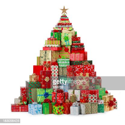 christmas tree with presents - photo #45