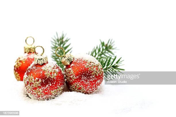 Christmas Red ball