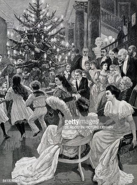 Christmas ringaroundtherosy Illustrated London News United Kingdom 20th century