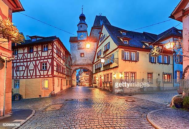 Christmas Rothenburg ob der Tauber, Bavaria, Germany
