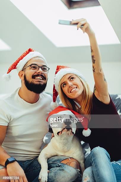 Christmas Selfie.