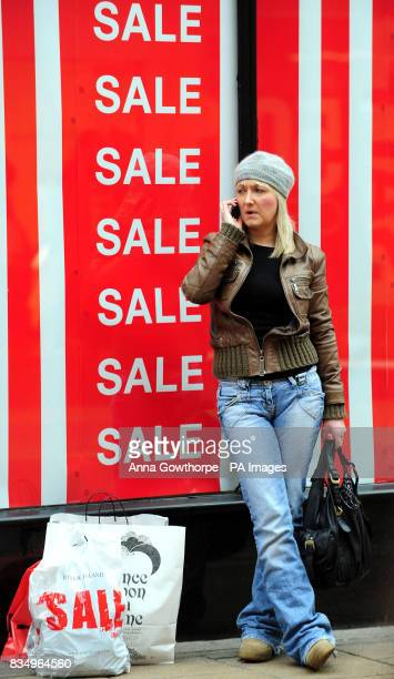 Christmas shoppers make the most of the sales in York city centre Retailers hope for another brisk shopping day today after starting sales up to 48...