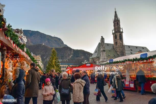 Christmas Shopping in Bolzano, Italy