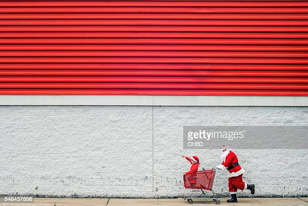 Weihnachts-shopping
