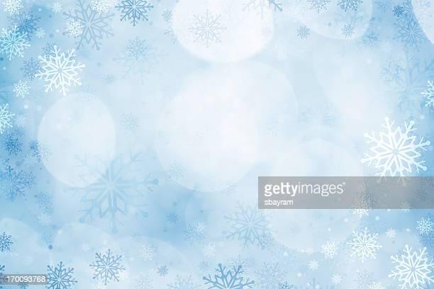 Weihnachten-Schneeflocken Hintergrund
