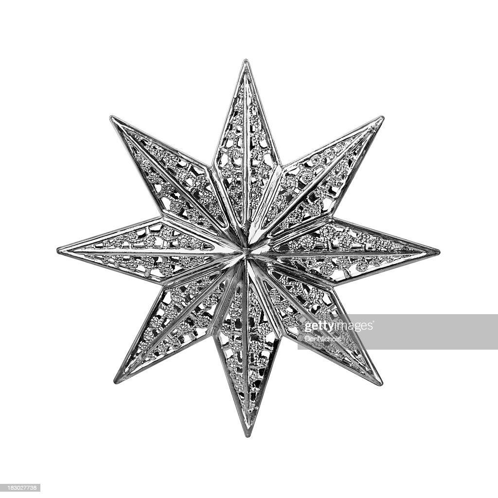 Christmas Star Isolated