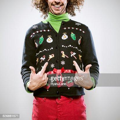 Christmas Sweater Man