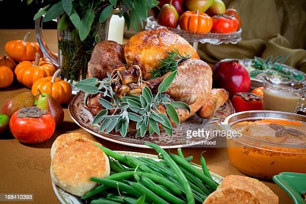 Christmas & Thanksgiving Holiday Roast Turkey Dinner
