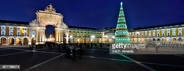 Christmas tree  and  Augusta Arch panorama